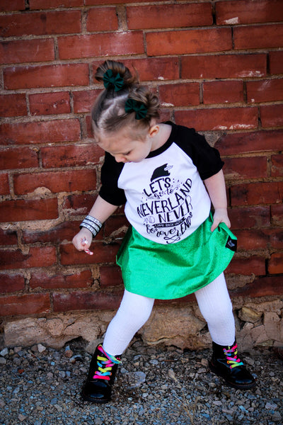 Neverland shirt for kids
