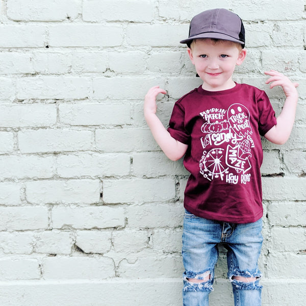 All things Fall Tee - Fall shirt for kids