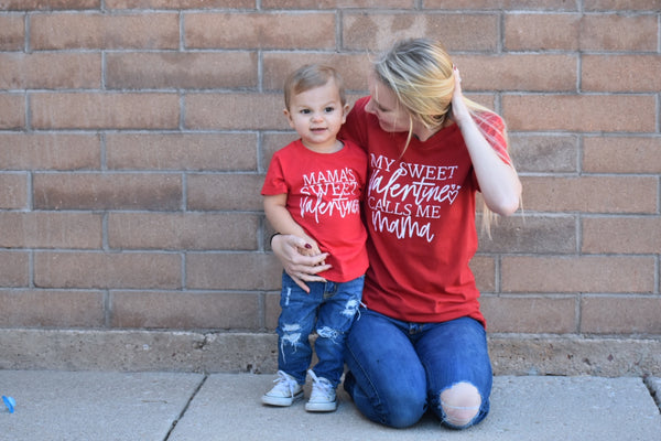 Mama Valentine tee- MOM TEE ONLY