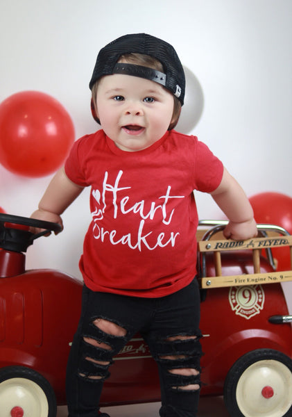 Heartbreaker tee - unisex toddler shirt