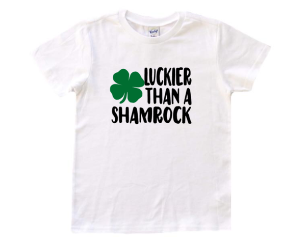 St.Patrick's day Luckier than a Shamrock Tee