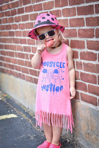 Popsicle Hustler - Kids Summer Popsicle Shirt