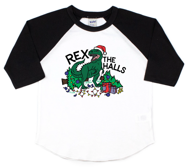 Rex the halls - Dinosaur Christmas shirt