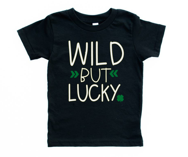 Wild But Lucky St.Patty's day Tee