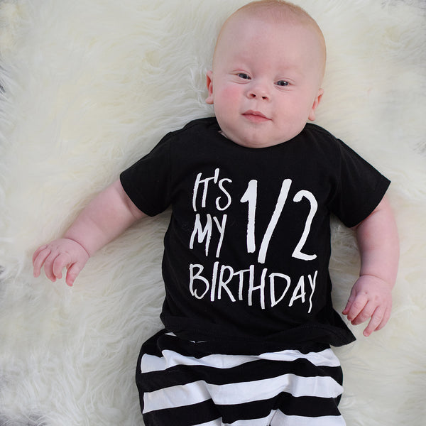 Half Birthday Outfit For Boy Or Girl Our 5 Loves