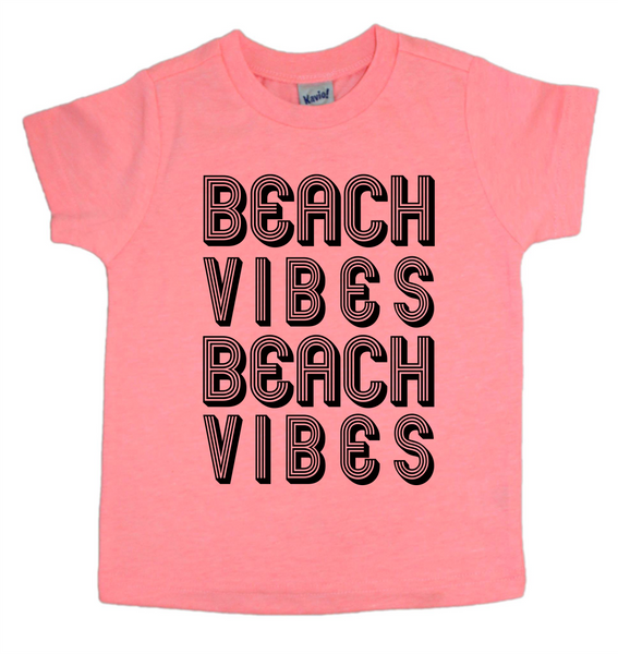 Beach vibes shirt - kids beach tee