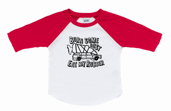 Christmas vacation shirt for the family- burn some dust eat my rubber