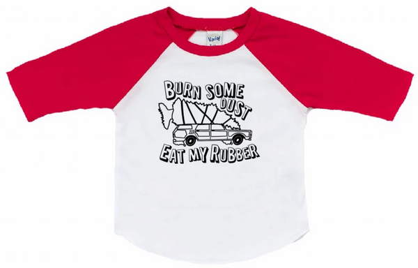 Christmas Vacation Kids Raglan