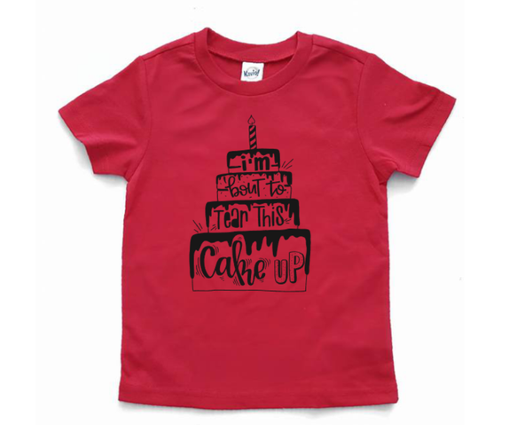1st Birthday Shirt - any age birthday tee