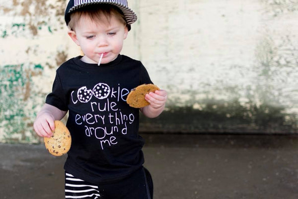 Cookies rule everything around me - Kids Shirt