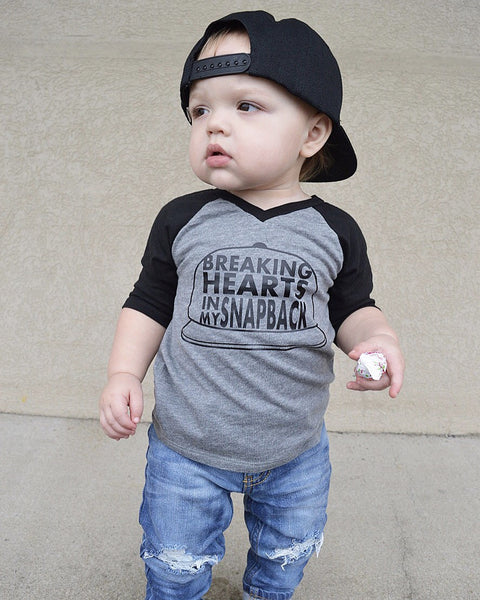 Breaking Hearts In My Snapback Stylish Baby Boy Clothes