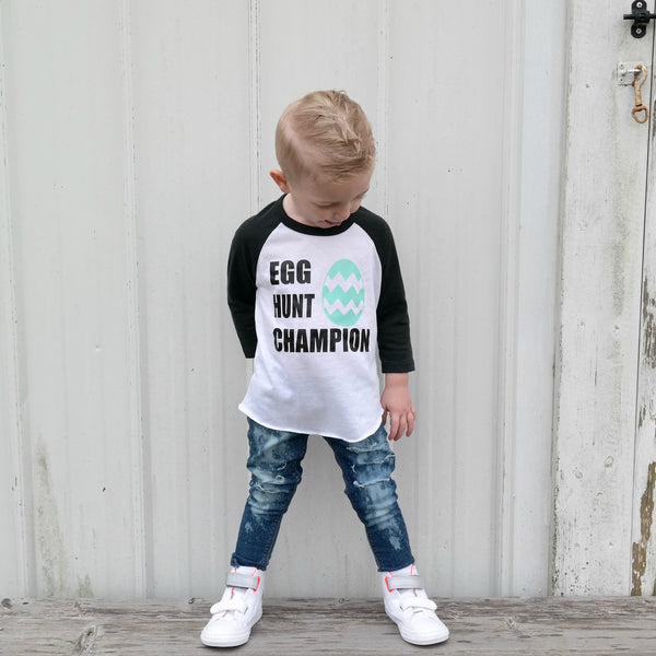 egg hunt champion - Easter tee for kids