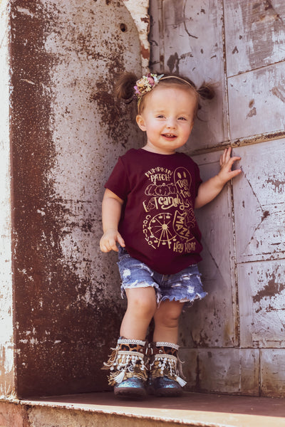 Fall shirt for kids, pumpkin patch shirt, it's fall y'all, boy pumpkin shirt, girl fall shirt, fall bucket list shirt, corn maze shirt