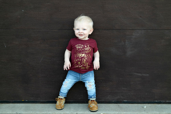 All things fall - fall shirt for kids