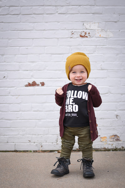 Follow me Bro - Our 5 Loves tee for kids