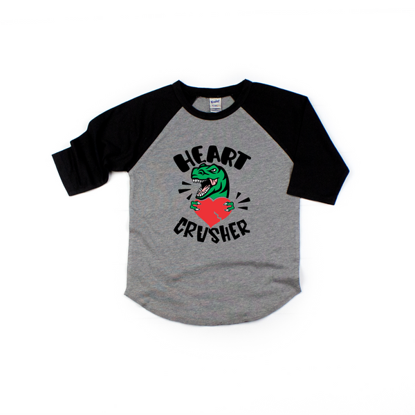 Heart Crusher - Dinosaur valentines shirt