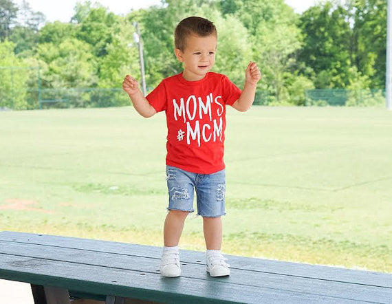 Mom's #MCM Tee, MCM tee, stylish boy clothes, hipster baby