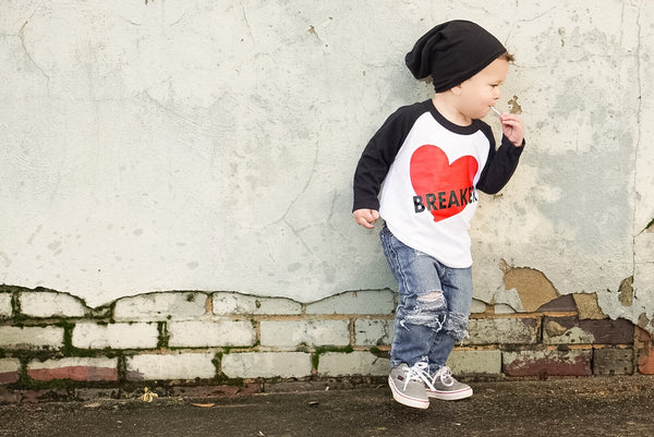 Boys Valentine Heartbreaker Shirt