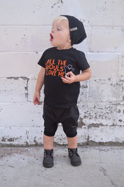 Cute Ghost Shirt for Boy - Halloween Tee