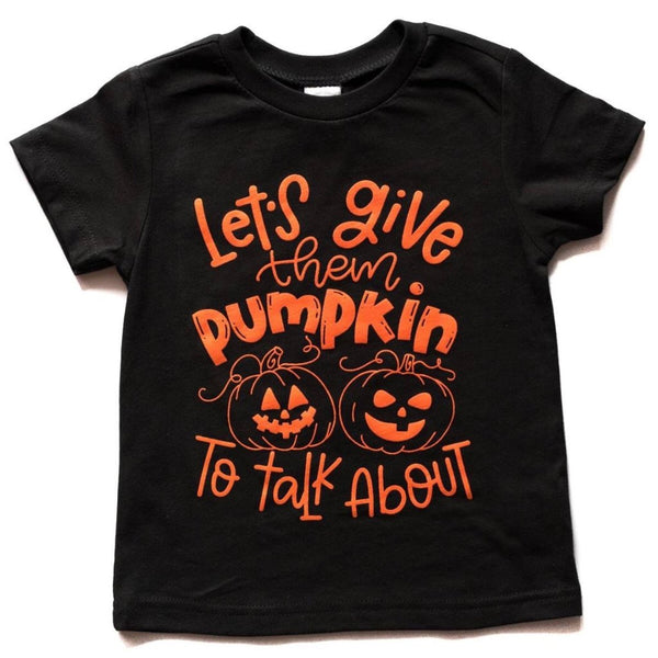 Let's give them pumpkin to talk about!