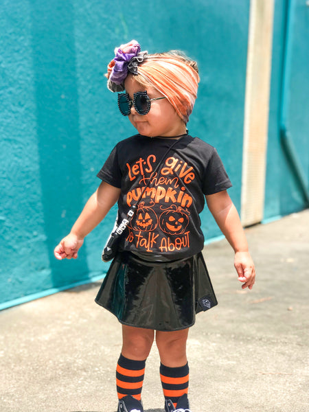 Let's give them pumpkin to talk about! Halloween Shirt for Kids
