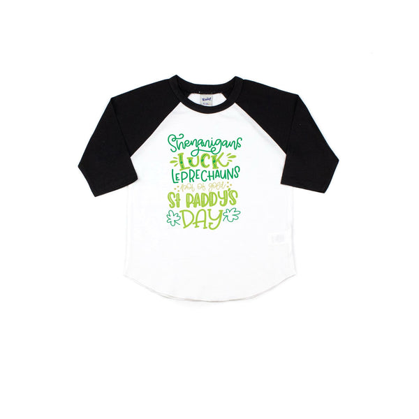 St. Patrick's day activities shirt - kids st. patrick's day tee