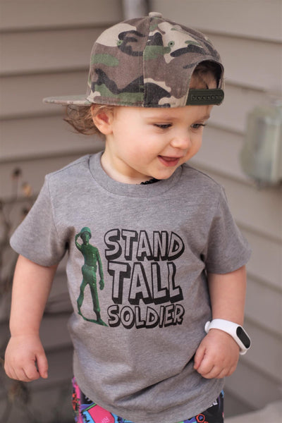 stand tall soldier - army men toy story tee