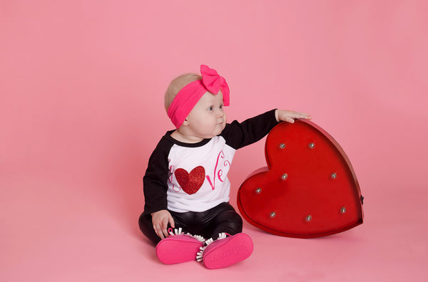 Girl Valentine Outfit - Love Shirt