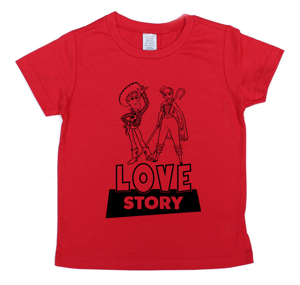 Love Story - Toy story Valentine's day tee