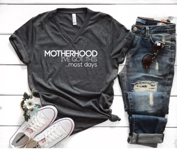 Funny motherhood shirt