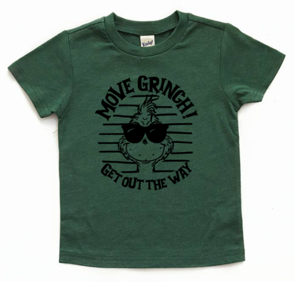 Move grinch, get out the way! Grinch family shirt