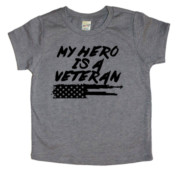 My hero is a veteran tee