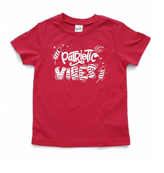 Patriotic vibes  - Patriotic shirt for kids