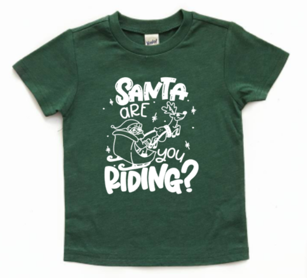 Santa, are you riding?