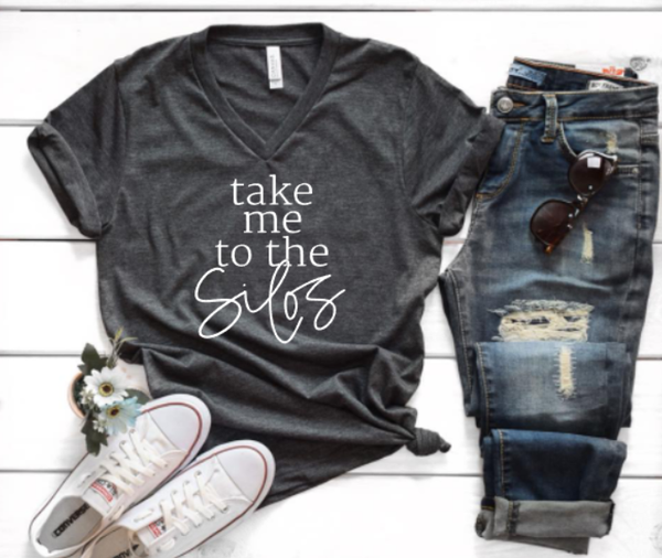 Take me to the Silos fixer upper Joanna Gaines t shirt