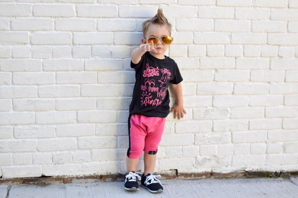 Summer clothes for trendy toddlers.
