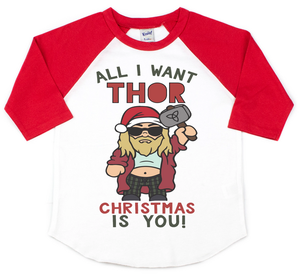 All I want Thor Christmas is you - Disney Christmas shirt
