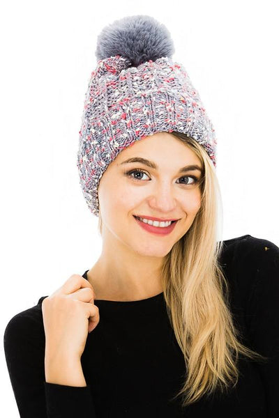 a Black Friday $6 Deals ~ Sweet You Rock Pom Pom Beanie Hats More Colors Available