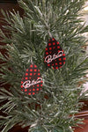 Happy Holiday Buffalo Plaid Earrings-Blessed-[option4]-[option5]-Cute-Trendy-Shop-Womens-Boutique-Clothing-Store