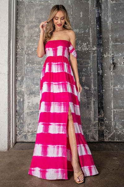 I'm Telling You Hot Pink Maxi Dress-[option4]-[option5]-Cute-Trendy-Shop-Womens-Boutique-Clothing-Store
