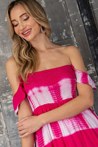 I'm Telling You Hot Pink Maxi Dress-SMALL-Pink-[option4]-[option5]-Cute-Trendy-Shop-Womens-Boutique-Clothing-Store