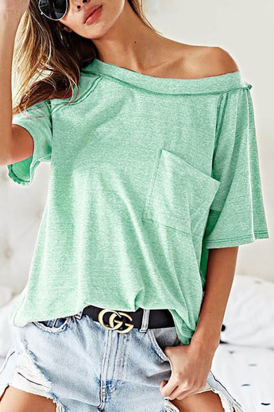 Effortless Loose Fit Tee-Jade-SMALL-[option4]-[option5]-Cute-Trendy-Shop-Womens-Boutique-Clothing-Store