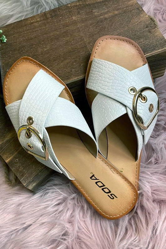 The Need to Dream White Slip On Sandal-[option4]-[option5]-Cute-Trendy-Shop-Womens-Boutique-Clothing-Store