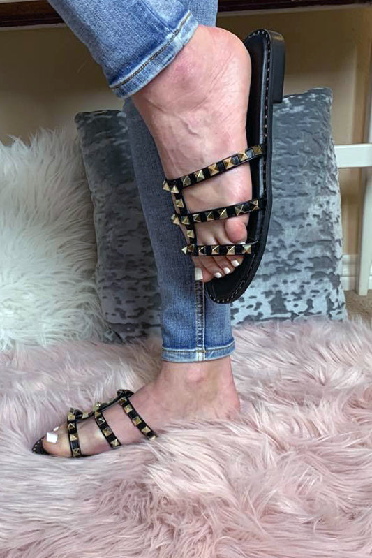 Be The Goddess Studded Sandals-[option4]-[option5]-Cute-Trendy-Shop-Womens-Boutique-Clothing-Store