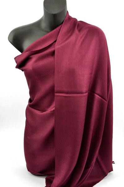 Special Night Solid Pashmina Shawl-Plum-[option4]-[option5]-Cute-Trendy-Shop-Womens-Boutique-Clothing-Store
