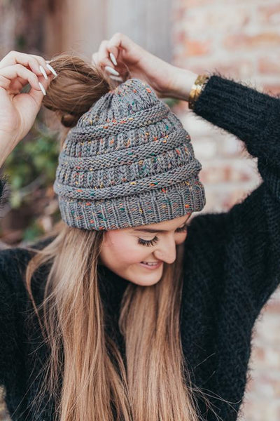 Keep It Cute Confetti Beanies-Grey-[option4]-[option5]-Cute-Trendy-Shop-Womens-Boutique-Clothing-Store