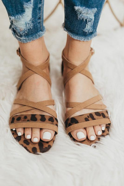 Plan Ahead Strappy Animal Print Sandals-[option4]-[option5]-Cute-Trendy-Shop-Womens-Boutique-Clothing-Store