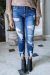 For the Team Distressed Stretch Jeans-[option4]-[option5]-Cute-Trendy-Shop-Womens-Boutique-Clothing-Store