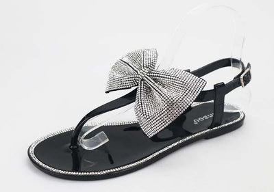 Take Care Jelly Sandals with Rhinestones-[option4]-[option5]-Cute-Trendy-Shop-Womens-Boutique-Clothing-Store