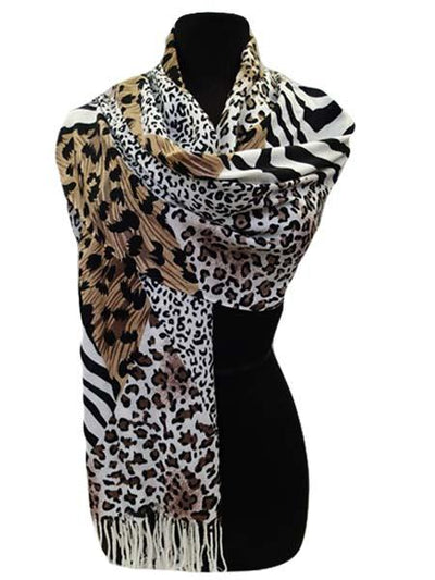 Black Friday $6 Deals animal print lightweight scarf  great gift idea
